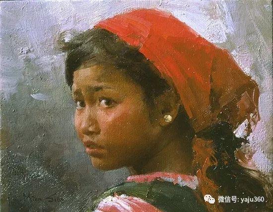 旅美华裔画家Mian Situ油画欣赏2插图15