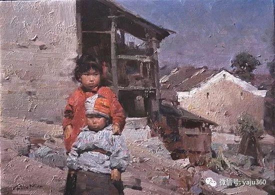 旅美华裔画家Mian Situ油画欣赏2插图23