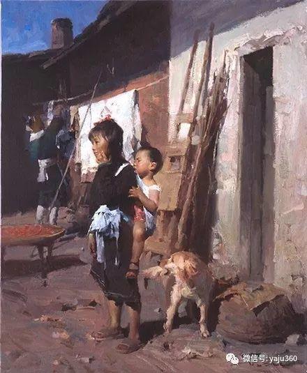 旅美华裔画家Mian Situ油画欣赏2插图25