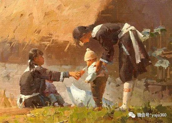 旅美华裔画家Mian Situ油画欣赏2插图29