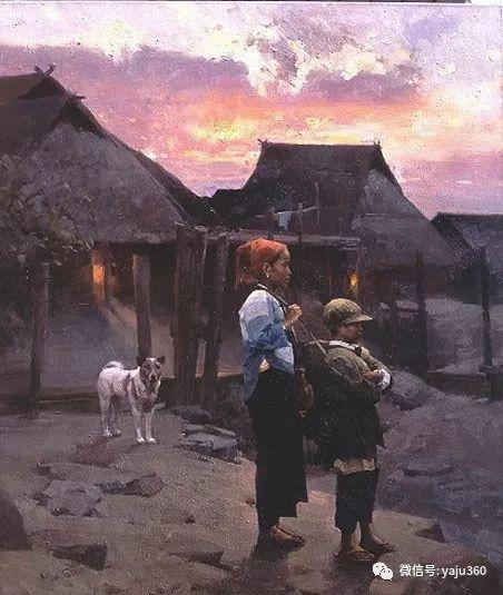 旅美华裔画家Mian Situ油画欣赏2插图35