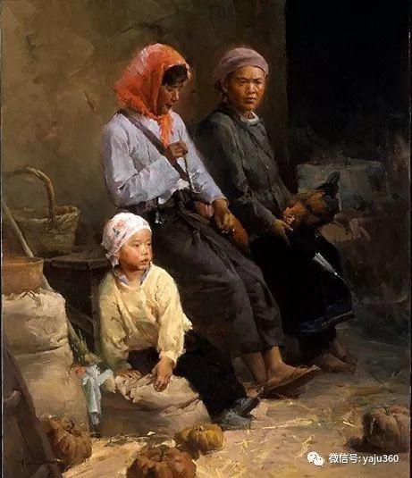 旅美华裔画家Mian Situ油画欣赏2插图39