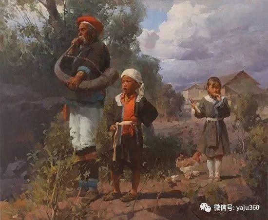 旅美华裔画家Mian Situ油画欣赏2插图47
