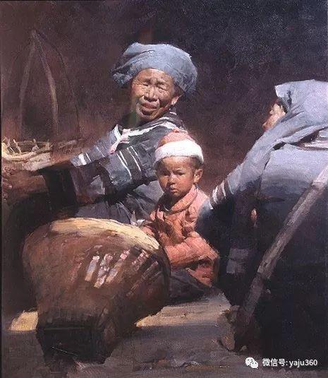 旅美华裔画家Mian Situ油画欣赏2插图53