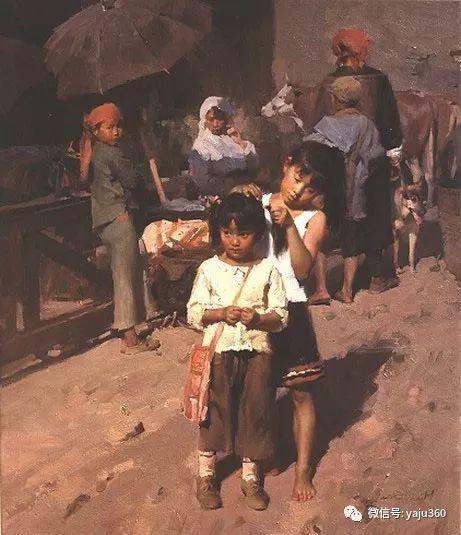 旅美华裔画家Mian Situ油画欣赏2插图55