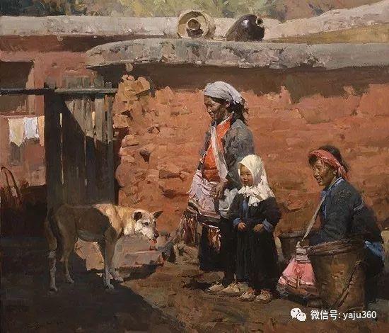 旅美华裔画家Mian Situ油画欣赏2插图59
