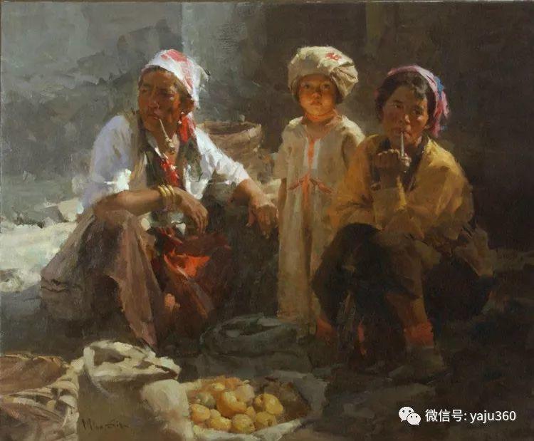 旅美华裔画家Mian Situ油画欣赏2插图63