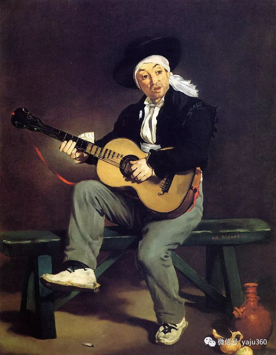 法国爱德华·马奈 19世纪印象主义奠基人之一插图15