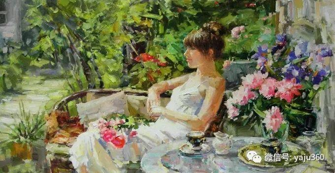 花卉风景 乌克兰女画家Zyuzkova Natalia插图1