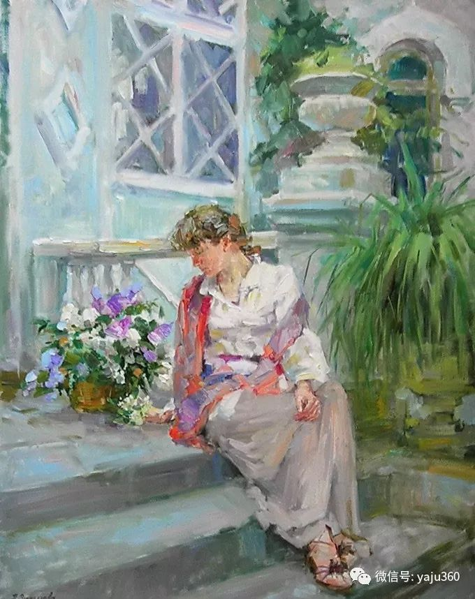 花卉风景 乌克兰女画家Zyuzkova Natalia插图3