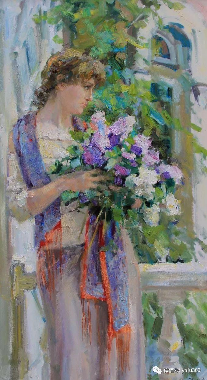 花卉风景 乌克兰女画家Zyuzkova Natalia插图5