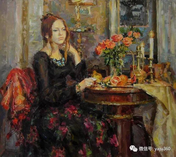 花卉风景 乌克兰女画家Zyuzkova Natalia插图7