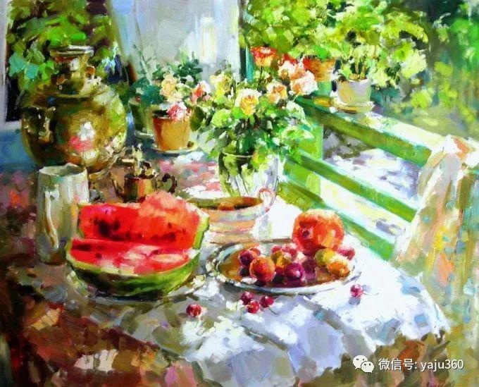 花卉风景 乌克兰女画家Zyuzkova Natalia插图11