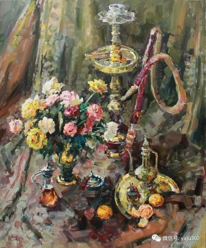 花卉风景 乌克兰女画家Zyuzkova Natalia插图13