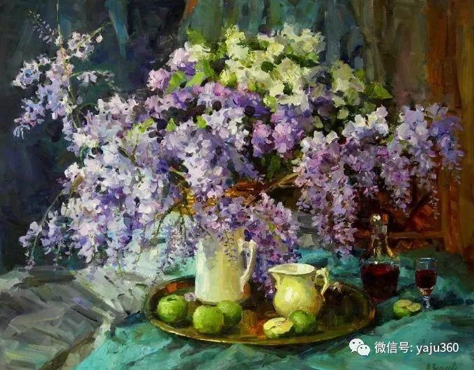 花卉风景 乌克兰女画家Zyuzkova Natalia插图15