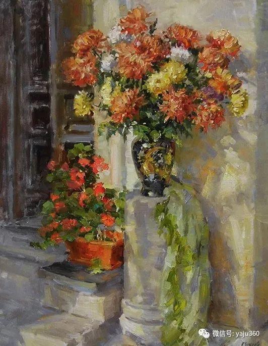 花卉风景 乌克兰女画家Zyuzkova Natalia插图17