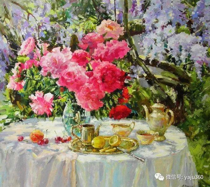 花卉风景 乌克兰女画家Zyuzkova Natalia插图19