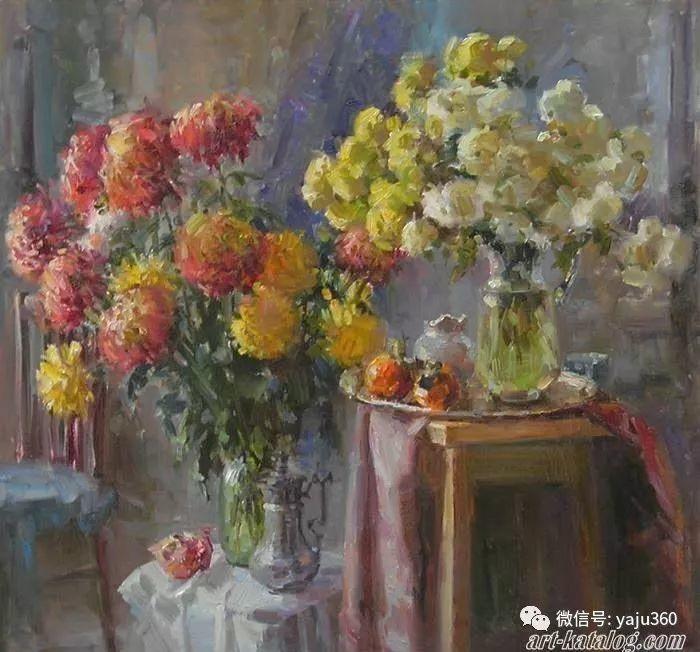 花卉风景 乌克兰女画家Zyuzkova Natalia插图23
