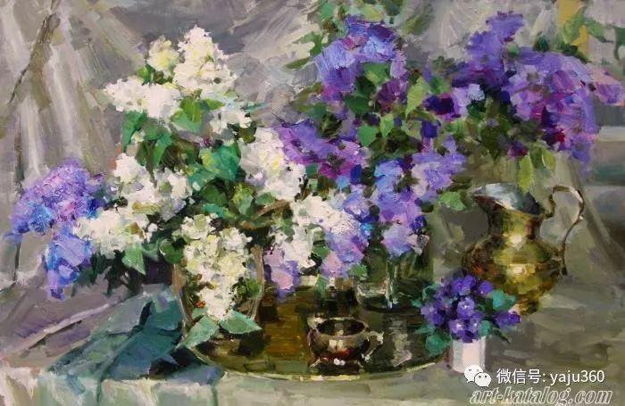花卉风景 乌克兰女画家Zyuzkova Natalia插图27