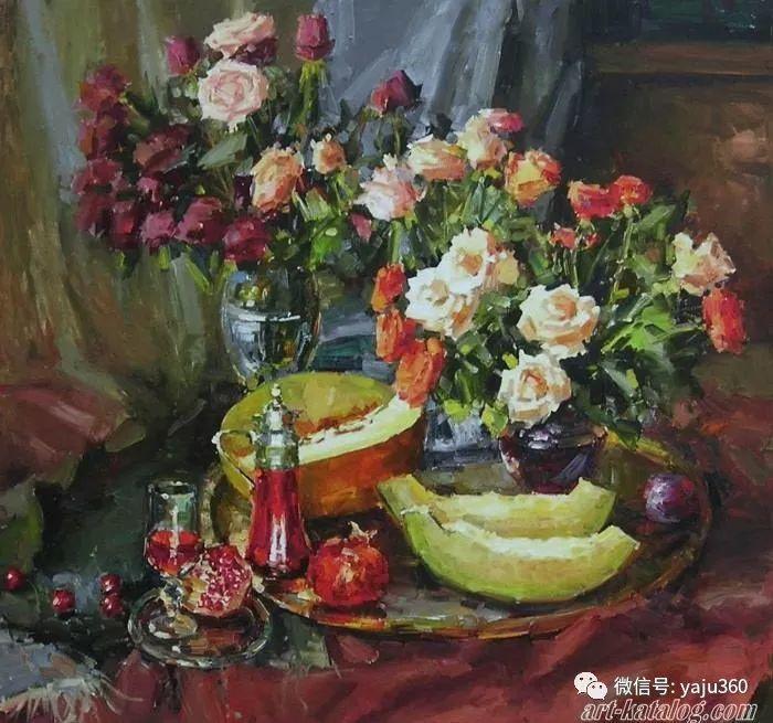 花卉风景 乌克兰女画家Zyuzkova Natalia插图29