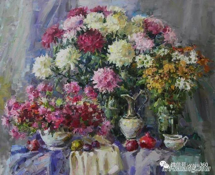 花卉风景 乌克兰女画家Zyuzkova Natalia插图31