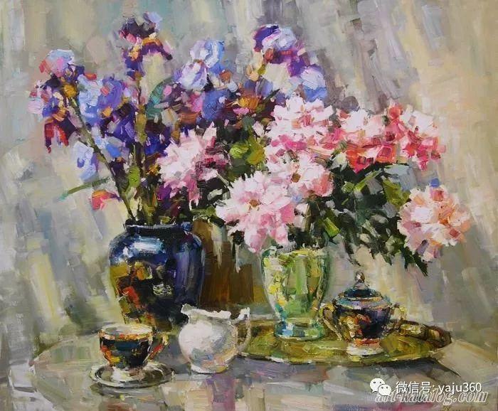 花卉风景 乌克兰女画家Zyuzkova Natalia插图33