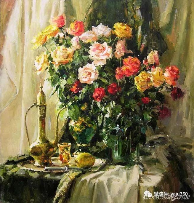花卉风景 乌克兰女画家Zyuzkova Natalia插图37
