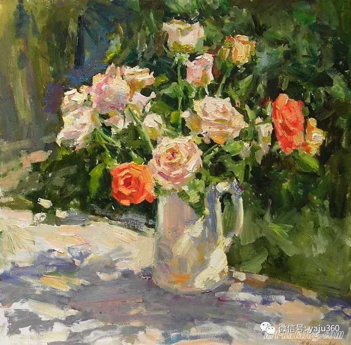 花卉风景 乌克兰女画家Zyuzkova Natalia插图39