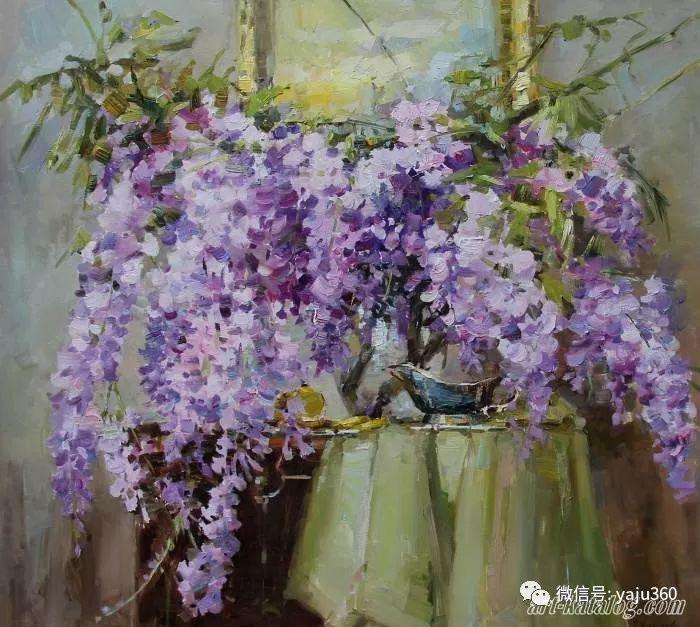 花卉风景 乌克兰女画家Zyuzkova Natalia插图41