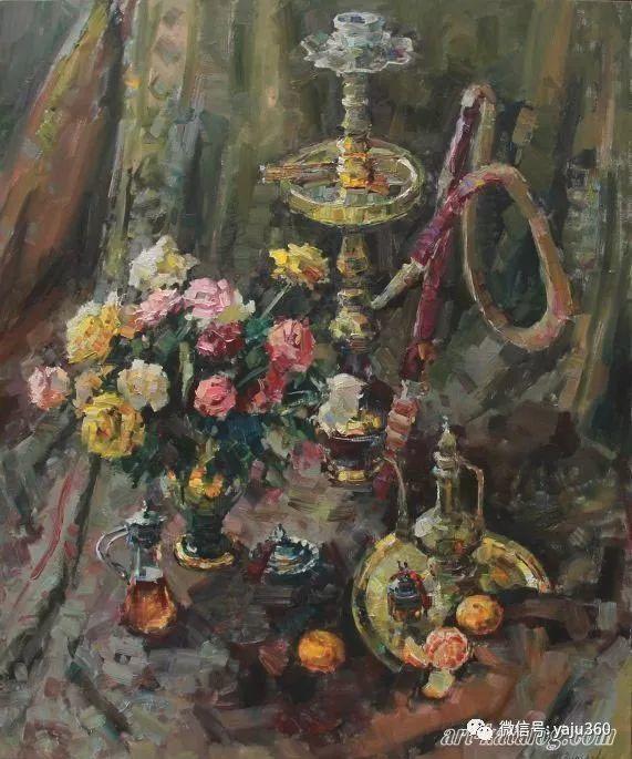 花卉风景 乌克兰女画家Zyuzkova Natalia插图43