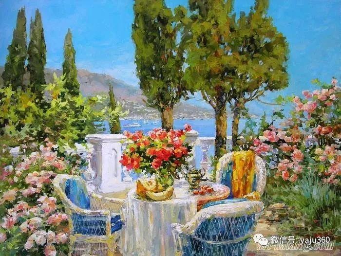 花卉风景 乌克兰女画家Zyuzkova Natalia插图57