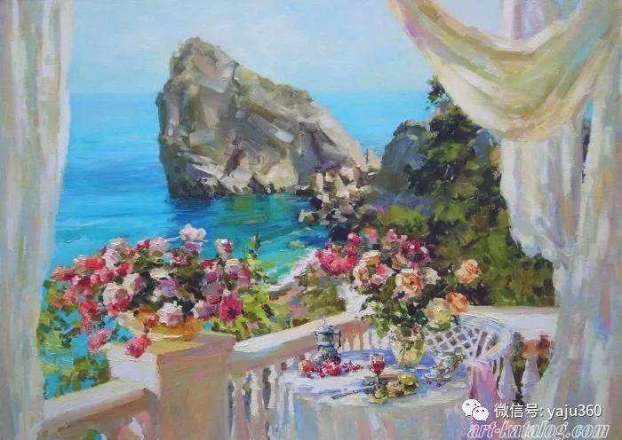 花卉风景 乌克兰女画家Zyuzkova Natalia插图63