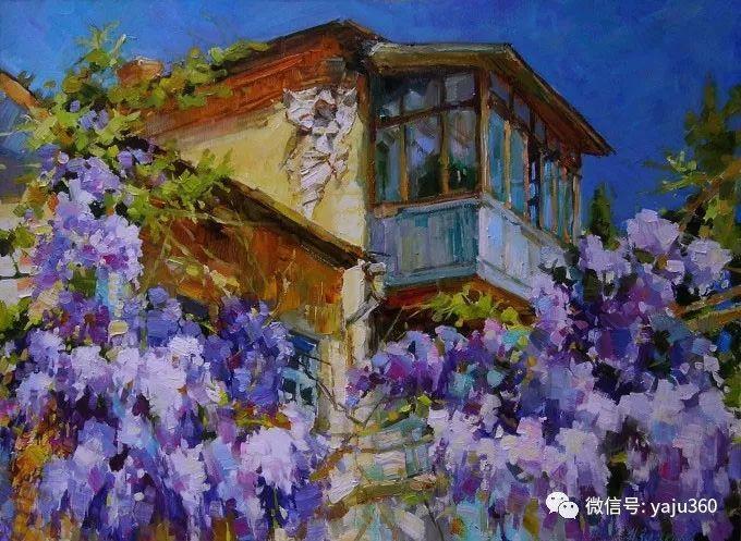 花卉风景 乌克兰女画家Zyuzkova Natalia插图69