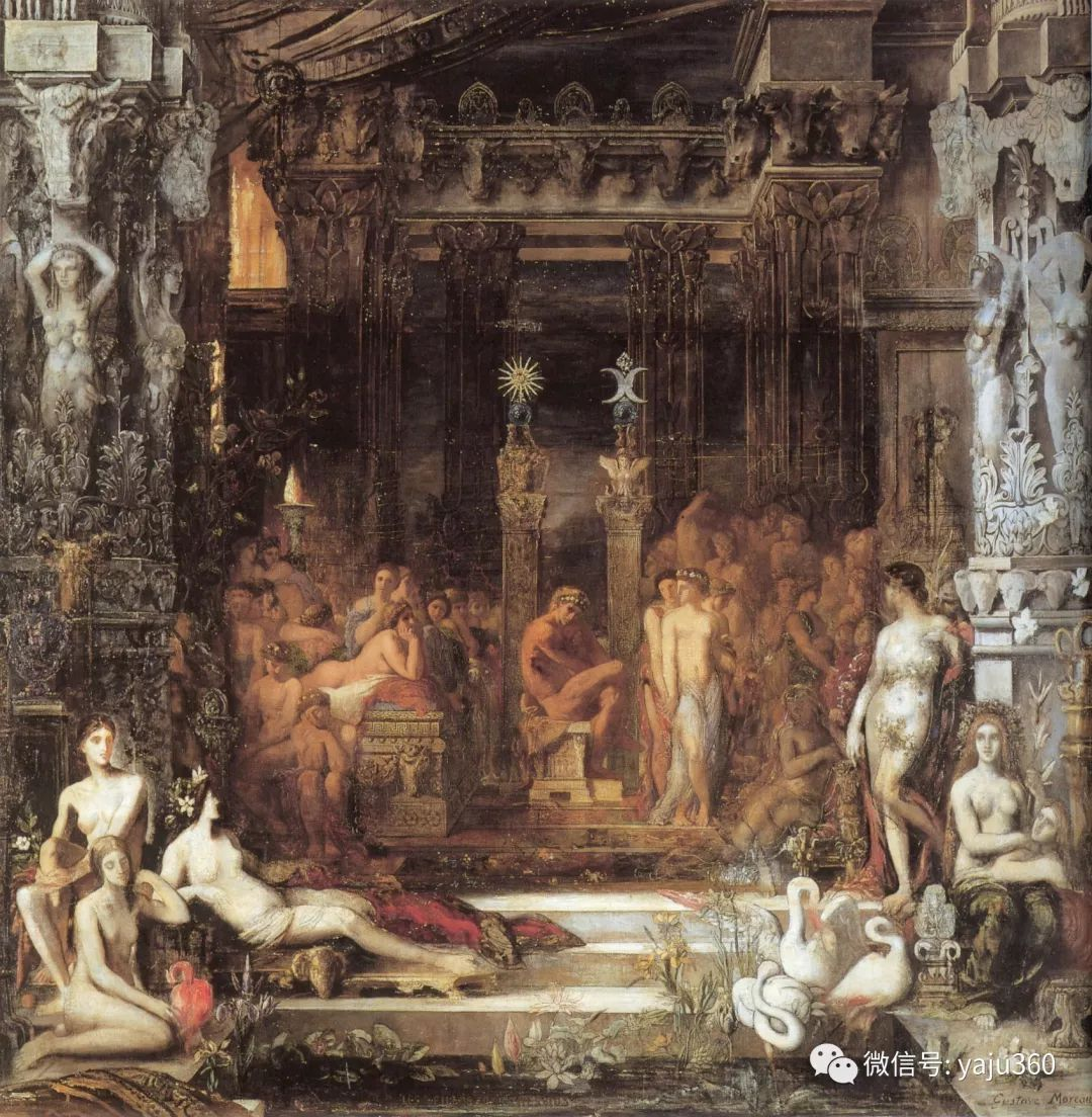 马蒂斯的师傅 法国Gustave Moreau插图5
