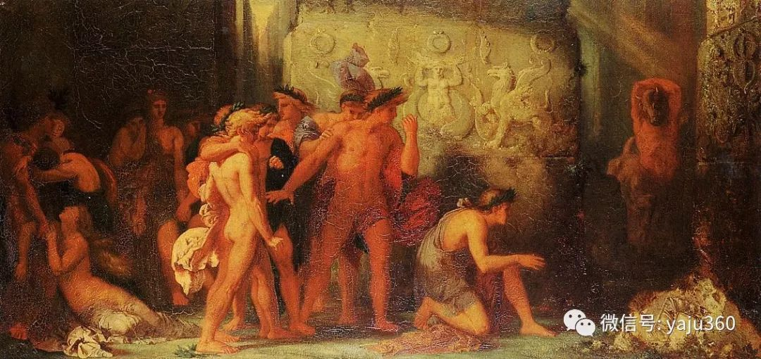 马蒂斯的师傅 法国Gustave Moreau插图13