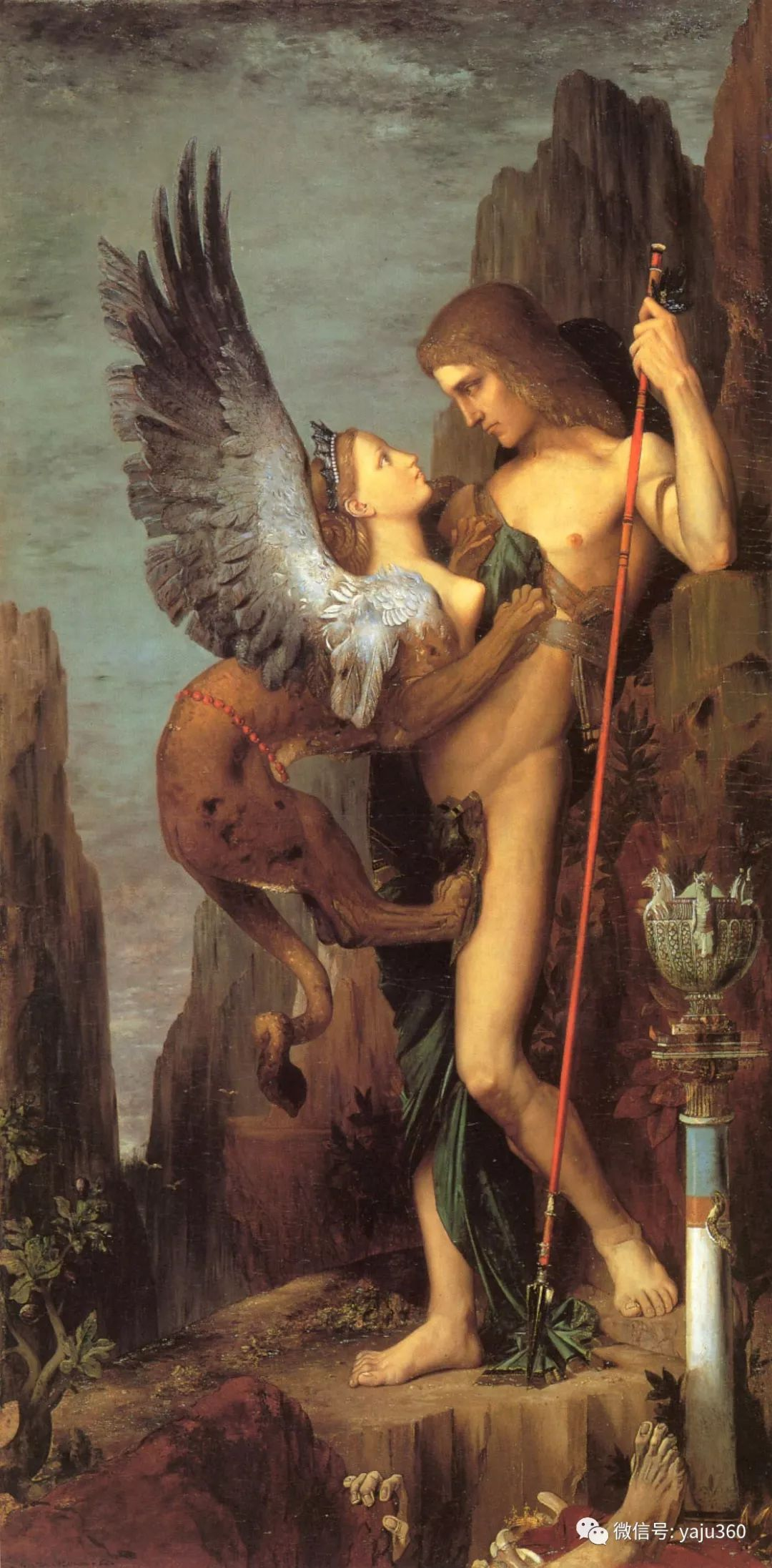 马蒂斯的师傅 法国Gustave Moreau插图23