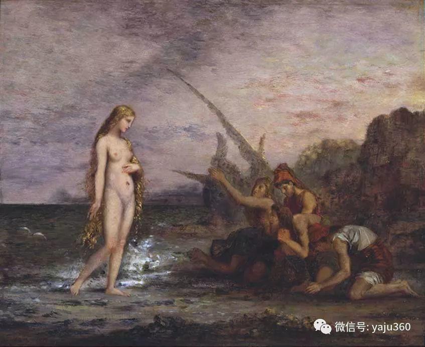 马蒂斯的师傅 法国Gustave Moreau插图33