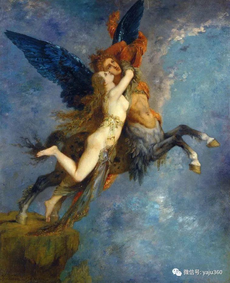 马蒂斯的师傅 法国Gustave Moreau插图37