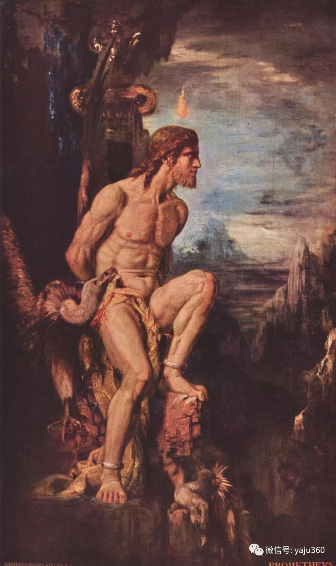马蒂斯的师傅 法国Gustave Moreau插图39