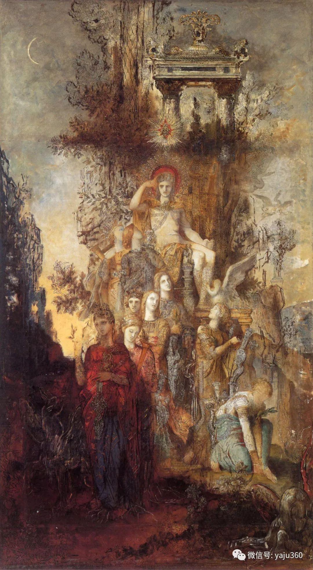 马蒂斯的师傅 法国Gustave Moreau插图41