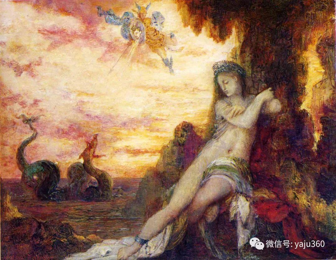 马蒂斯的师傅 法国Gustave Moreau插图51