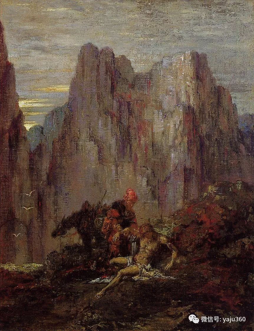 马蒂斯的师傅 法国Gustave Moreau插图55