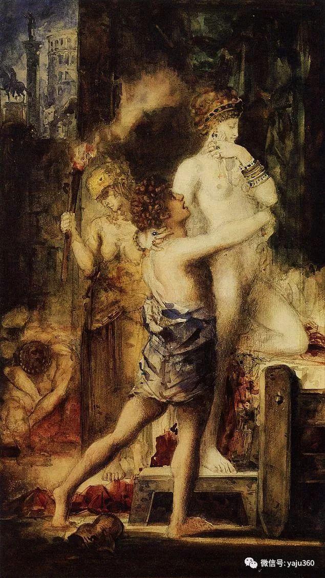 马蒂斯的师傅 法国Gustave Moreau插图59