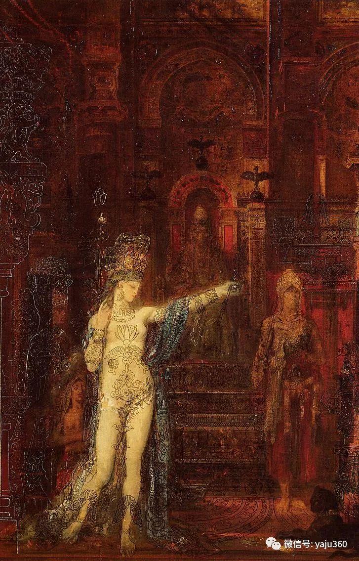 马蒂斯的师傅 法国Gustave Moreau插图65
