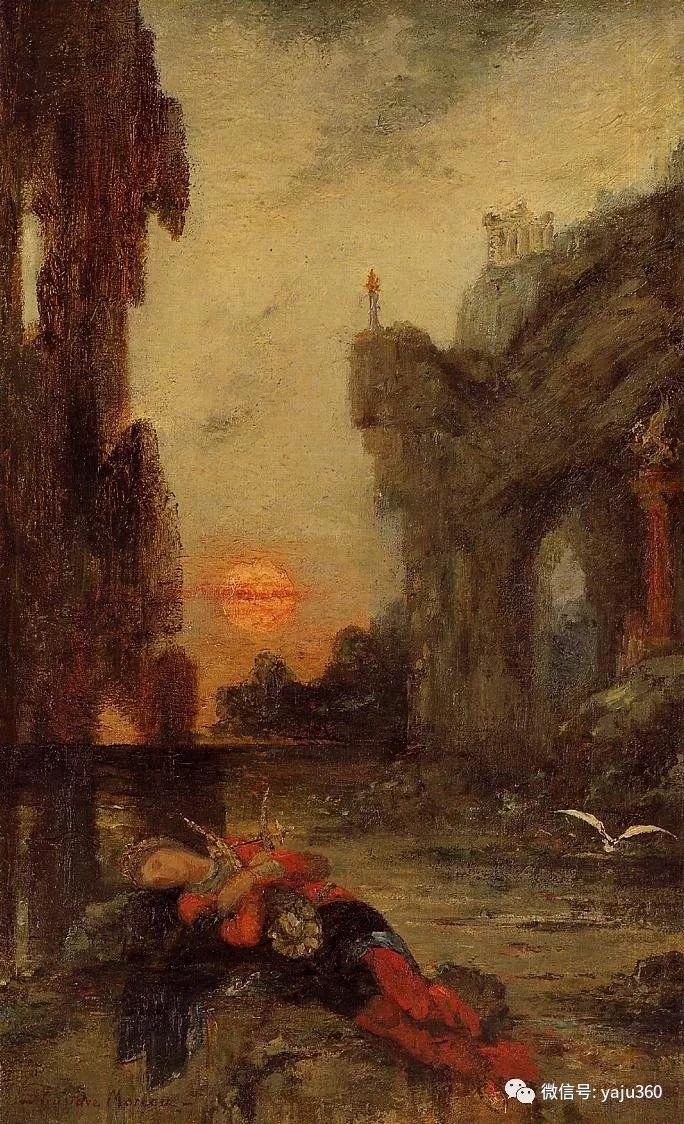 马蒂斯的师傅 法国Gustave Moreau插图67