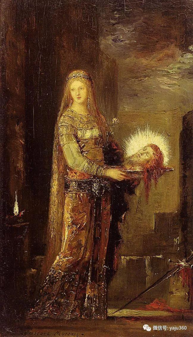 马蒂斯的师傅 法国Gustave Moreau插图75