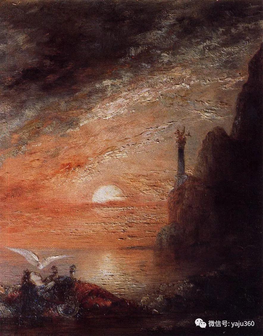 马蒂斯的师傅 法国Gustave Moreau插图81
