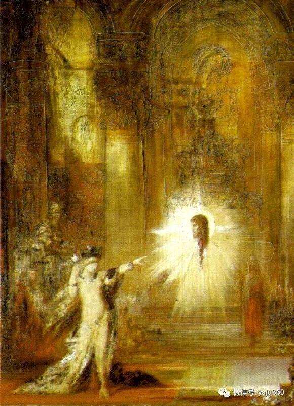 马蒂斯的师傅 法国Gustave Moreau插图83