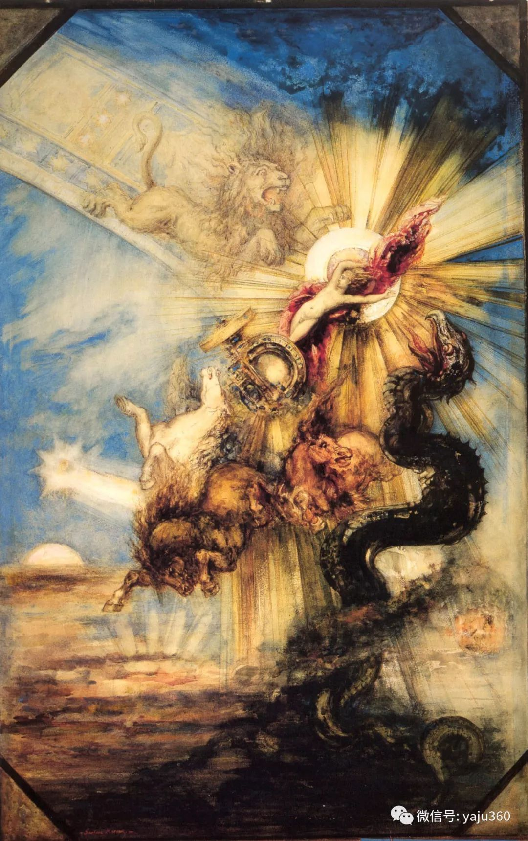 马蒂斯的师傅 法国Gustave Moreau插图87