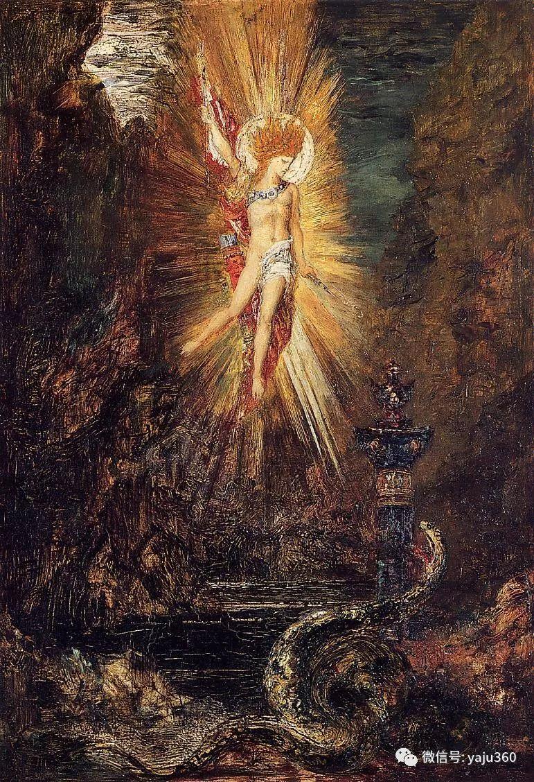 马蒂斯的师傅 法国Gustave Moreau插图95